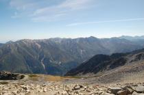 薬師岳山頂から2