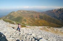 黒部五郎岳への登山道