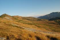 北ノ俣岳斜面の紅葉