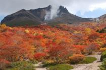 姥が平からの茶臼岳2