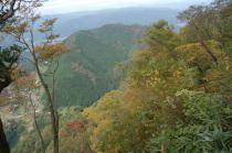 東屋から長福山