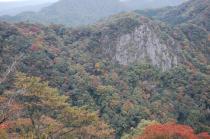 櫛ヶ峰方面
