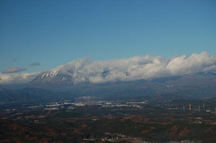 本山からの日光連山
