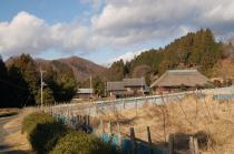 駐車場付近から見る中武生山