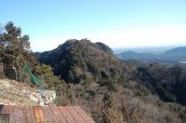 赤岩山頂からの古賀志山