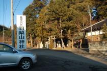 羽梨山神社駐車場