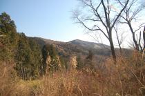 尾根道からの加賀田山