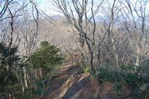 難台山ハイキングコースからの吾国山