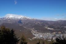 神ノ主山頂からの女峰山
