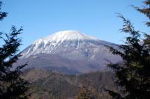 神ノ主山からの男体山