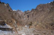 雲竜渓谷入口