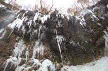 スッカン沢の氷壁2