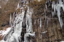 スッカン沢の氷壁4