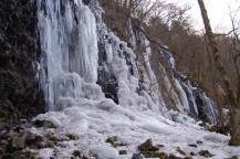 スッカン沢の氷壁10