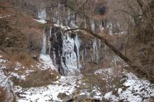 スッカン沢の氷壁12