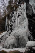スッカン沢の氷壁5