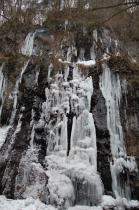 スッカン沢の氷壁6