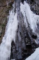 スッカン沢の氷壁8