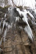 スッカン沢の氷壁9