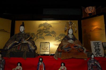 江戸時代のお雛様