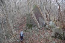 燕山への山道