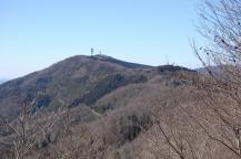 パラボナ山への稜線