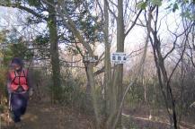 高館山頂(301.8m)