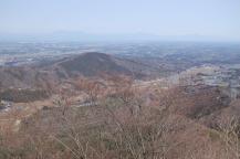 三戸谷山からの高舘山