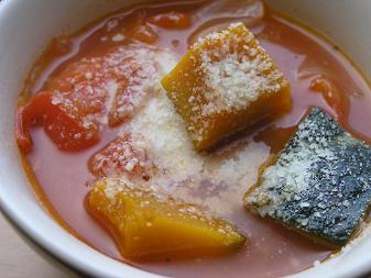 トマトスープ(かぼちゃ)
