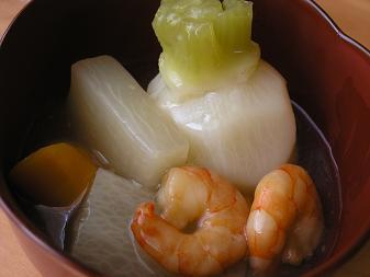 かぶの煮物(ゆず風味)