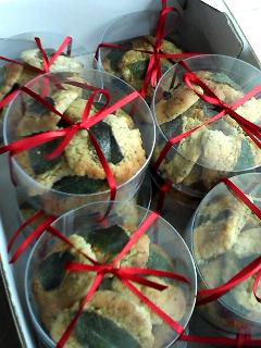 紅茶ミントクッキー