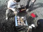 2007.6.10BBQ焼きイケ&モヤッシ