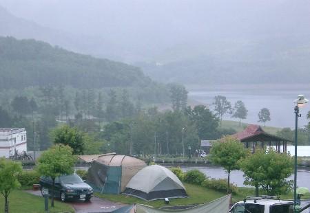 かなやま湖 オートキャンプ場