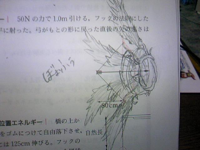 手書き暴風