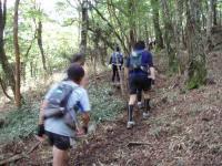 小川岳への登り