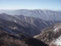 白岩から向霧立越方面