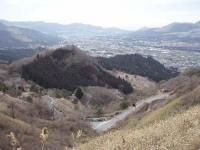 高森峠からの鳥瞰