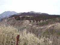 根子岳と清栄山