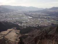 清栄山頂からの南郷谷
