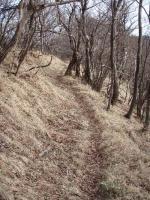 五勇山への道