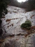 幻の滝(60m二段)