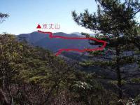 京丈山までのコース