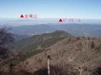 京丈山頂からみる熊本市