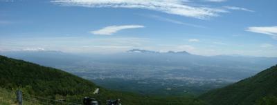 チェリーパークラインから八ヶ岳・富士山@車坂峠(長野)