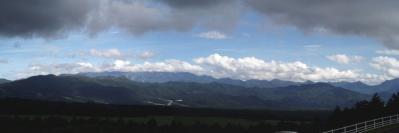 瑞牆山方面@八ヶ岳高原牧場