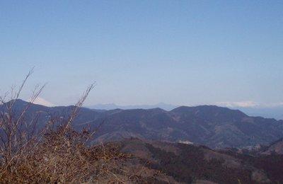 真っ白な浅間山@陣見山線