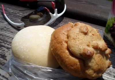 しろくまのお気に入りのパンでランチ