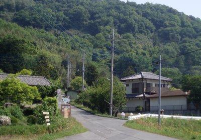 不動峠登り口(大池公園側)