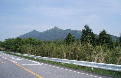 筑波スカイラインから筑波山