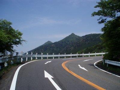 富士見橋(448mと筑波山